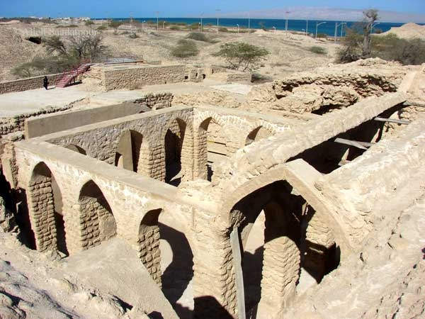 The historic city of harireh on Qeshm Island