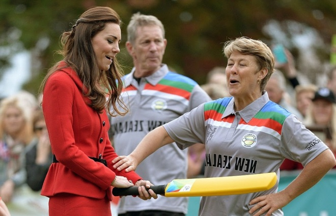 William and Kate Bowl Each Other Over With a Game of Cricket